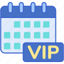 date, membership, monthly icon