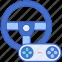 games, racing, wheel