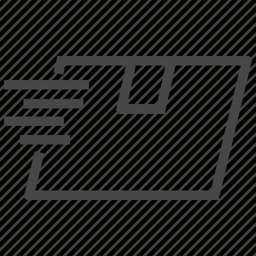 box, delivery icon