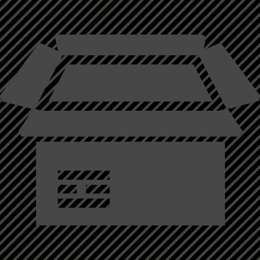 box, open box, product icon
