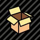 carton, box, container, sushi, delivering