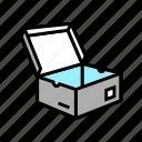 men, shoes, box, carton, container