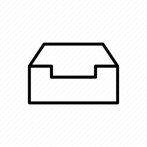 box, delivery, gift, package, present, storage icon