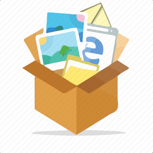 box, computer, internet, marketing, package, seo, web icon