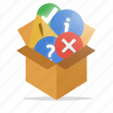 box, internet, marketing, package, seo, web icon