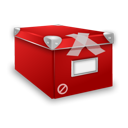 box, classified, closed icon