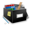 add, box, building, school icon