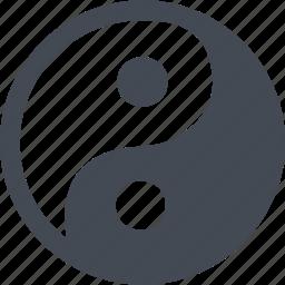 buddhism, religion, religious, yin yang icon