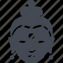 buddha, buddhism, buddhist, pagoda, religion icon