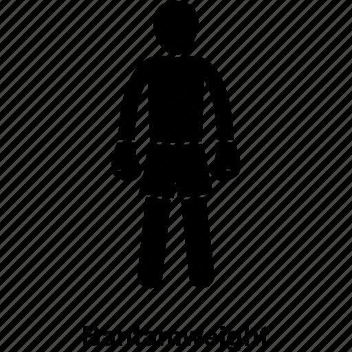 bantam, boxer, boxing, category, kick, man, weight icon