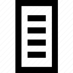block, brick, cutouts, grid, masonry, square icon