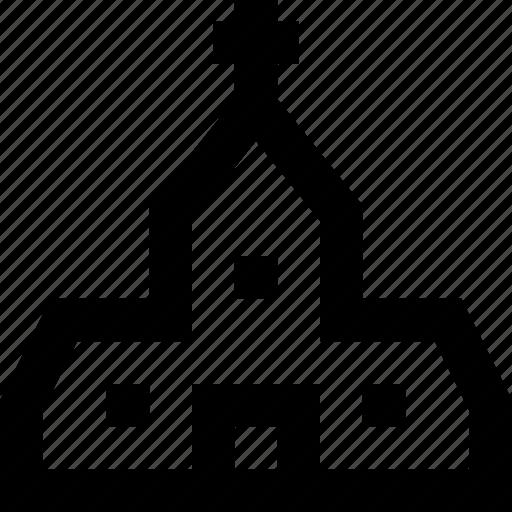 building, christian, church, god, sacral, theology icon