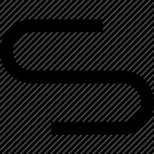 corner, flow, process, road, route, track icon