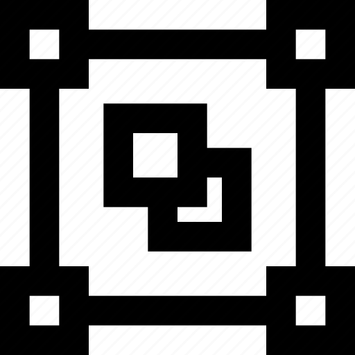 design, digital, edit, shapes, swuares icon
