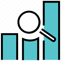 analytics, developments, graphs, growing, growth, sales icon