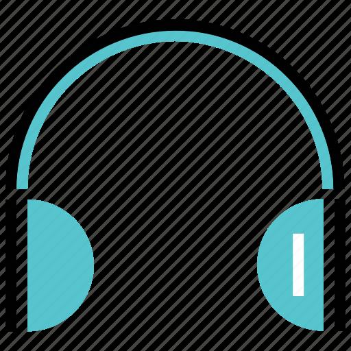 audio, head, multimedia, music, phone, sound icon