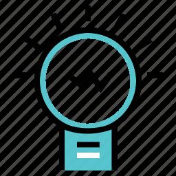 bulb, idea, new, working icon