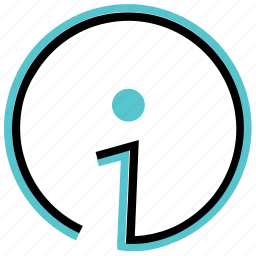 info, information, intelligence icon