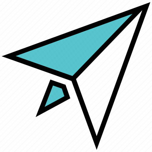 launch, paper plane, start icon
