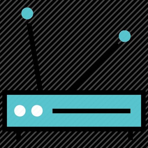 internet, online, router, wireless icon