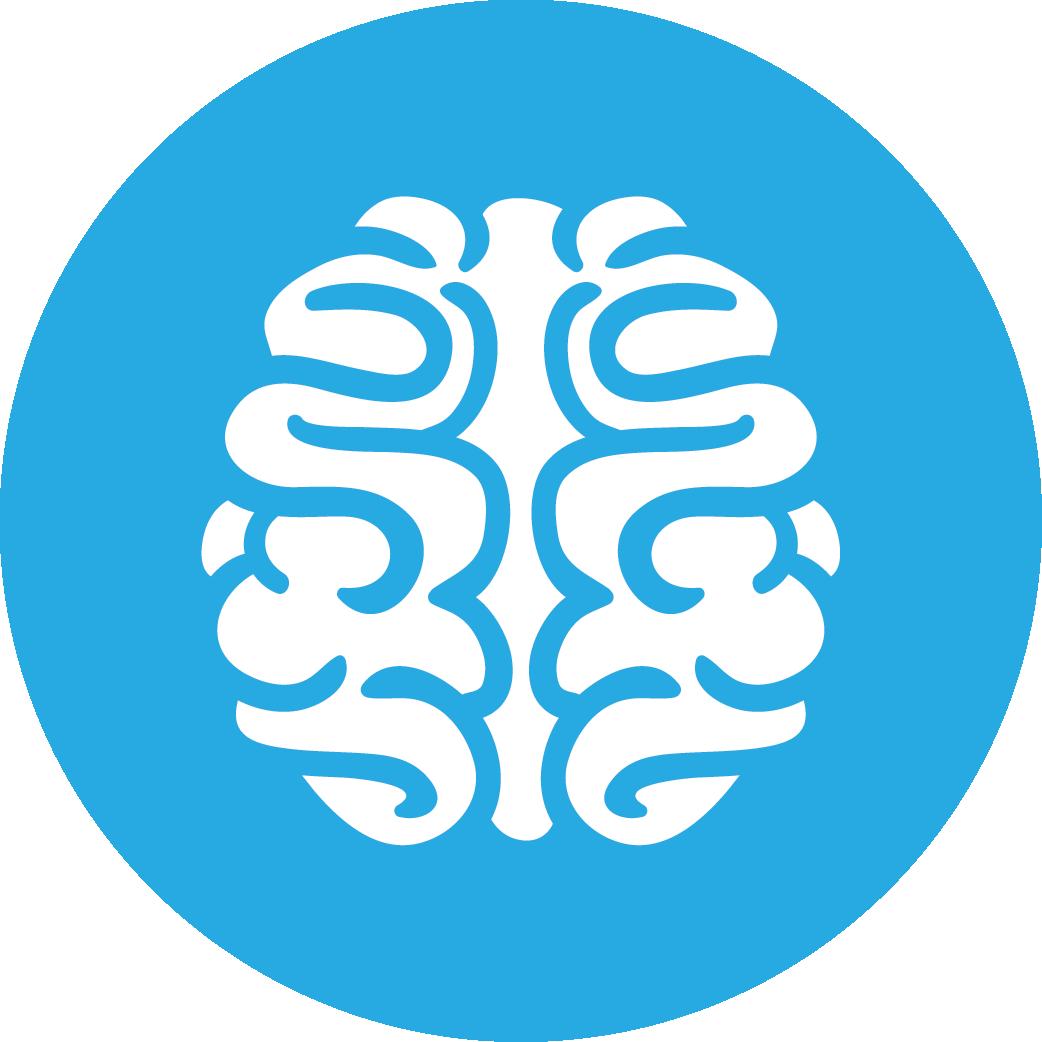 brain, games icon