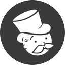 grey, monopoly icon