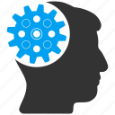 brain, control, engineering, head gear, idea, memory, technology icon