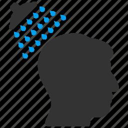 ads pipe, bathroom, brain washing, head shower, sanitary, tap faucet, washroom icon
