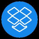 box, drop, dropbox, media, online, social icon icon