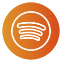 audio, audio streaming, music, spotify icon icon