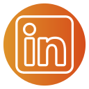 circle, color, linkedin icon icon