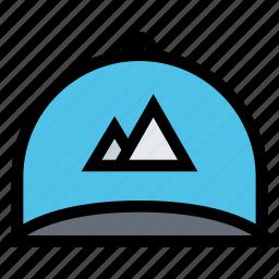 brand, branding, cap, design, print icon