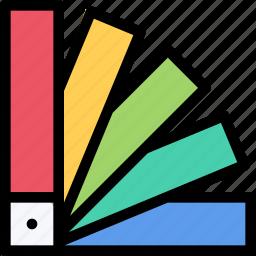 brand, branding, colors, design, print icon