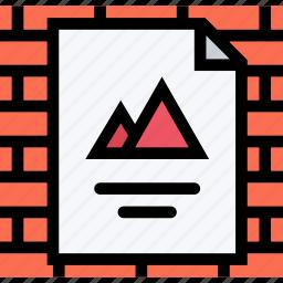 brand, branding, design, poster, print icon