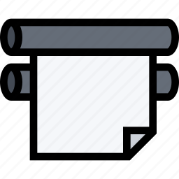 brand, branding, design, print, printer icon