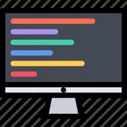 brand, branding, design, print, programming icon
