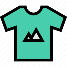 brand, branding, design, print, t-shirt icon