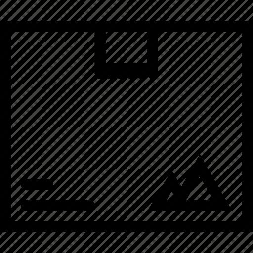box, brand, branding, design, print icon