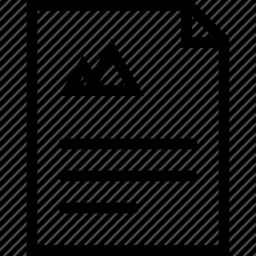 brand, branding, design, document, print icon