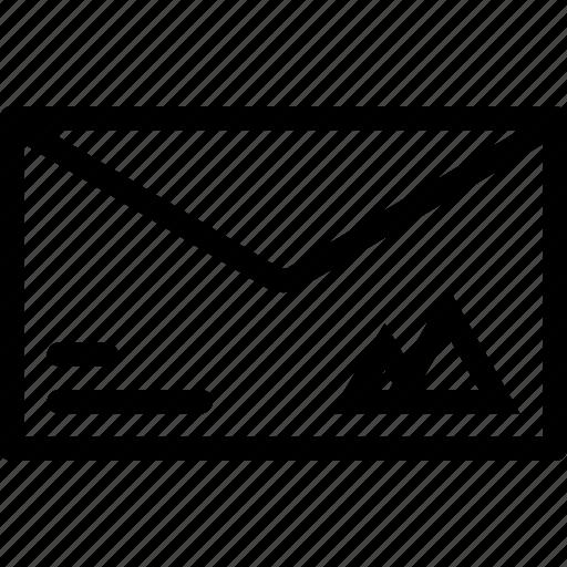brand, branding, design, envelope, print icon