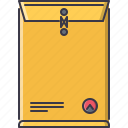 advertising, brand, design, envelope, package, print icon