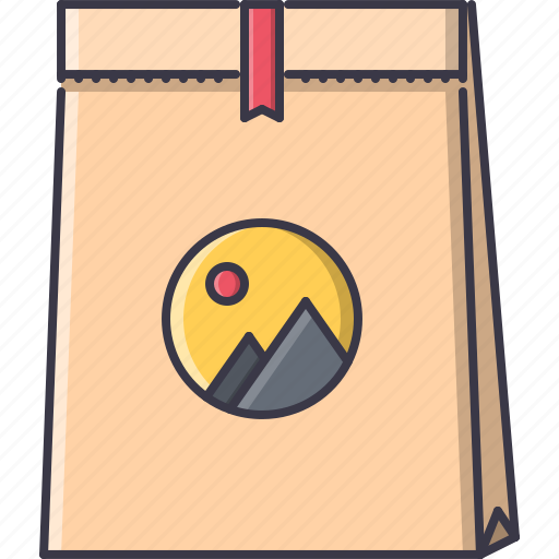 advertising, brand, design, package, print icon