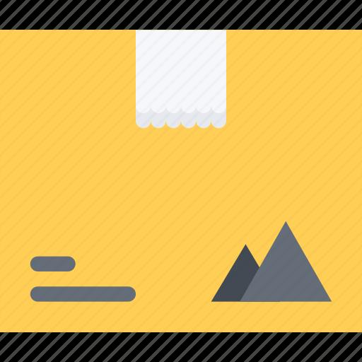 box, brand, branding, design, typography icon