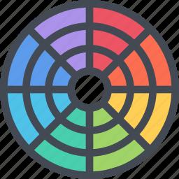 brand, branding, color, design, typography icon