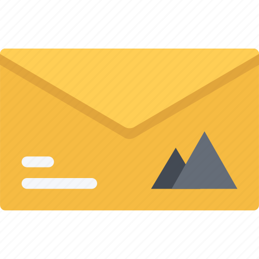 brand, branding, design, envelope, typography icon
