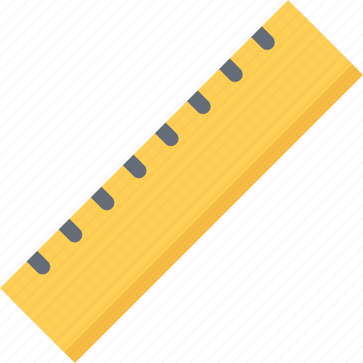 brand, branding, design, ruler, typography icon