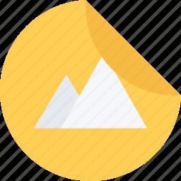 brand, branding, design, sticker, typography icon