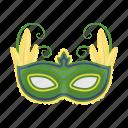 accessory, brazil, carnival, festival, mask, party icon