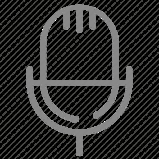 mic, microphone, sound, speaker icon