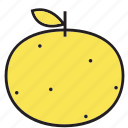 breakfast, food, fruit, health, meal, orange, sweet, vegetable, yellow icon